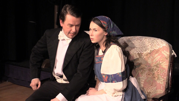 Sean Murphy & Aoibhinn Finnegan in 'The Proposal' (frame from video)
