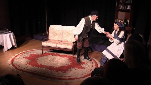 Steve Curran & Aoibhinn Finnegan in 'The Proposal' (frame from video)