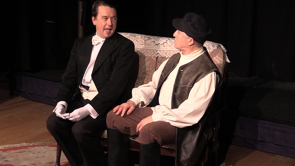 Sean Murphy & Steve Curran in 'The Proposal' (frame from video)