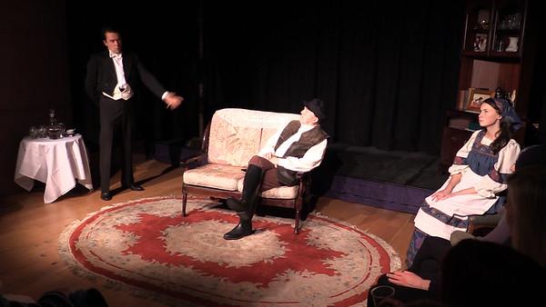 Sean Murphy, Steve Curran & Aoibhinn Finnegan in 'The Proposal' (frame from video)