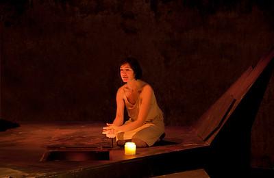 Act 5 Scene 3: Hilda Fay (Lady Macbeth).