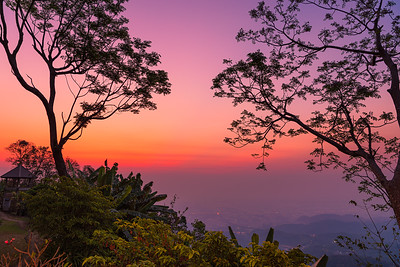 Sunrise at Doi Tung, Chiang Rai