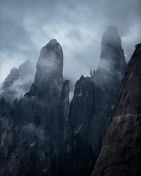 Twin Peaks in Yosemite