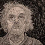 Self-portrait Age 74, Sheltering-in-place