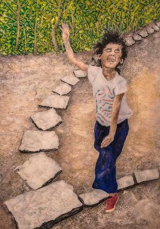 Running, Stone Path