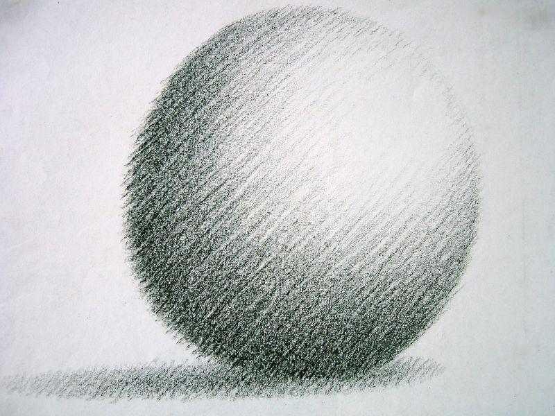 Sphere (wax crayon)