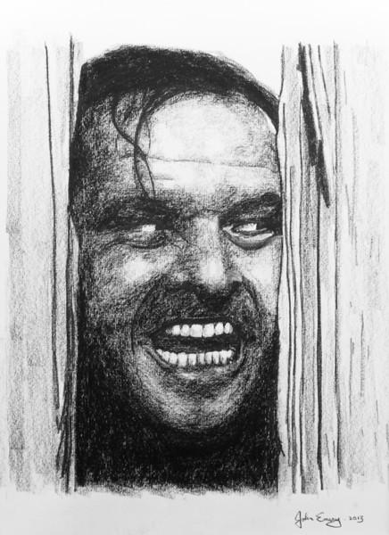"Jack Nicholson 18""x24"""