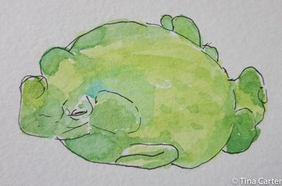 watercolor week (12/15) to 2-12-16