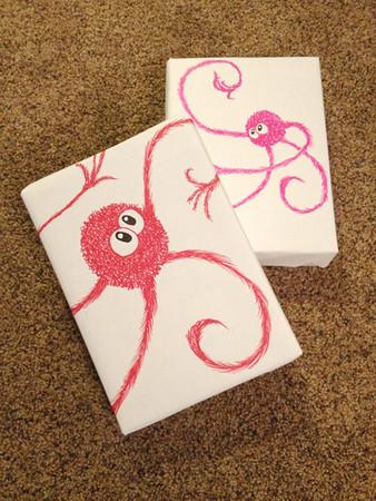 Wuzzits giftwrap #2 & #3