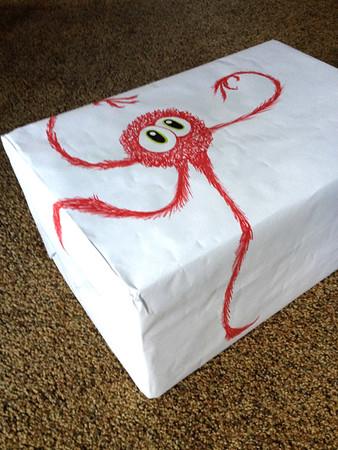 Wuzzits giftwrap #1