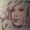 Kelly Clarkson drawing.