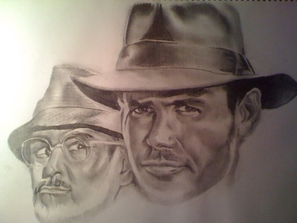Harrison Ford as Indiana Jones, Sean Connery