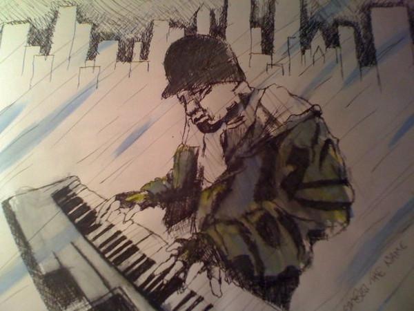 Mike Shinoda on Piano