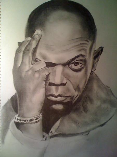 Samuel L. Jackson drawing