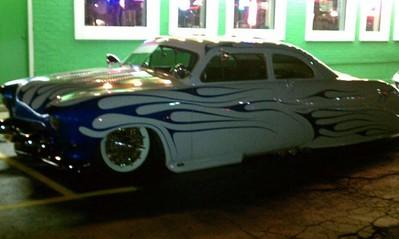 Cars at the Pub