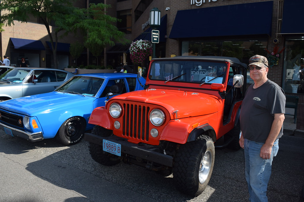 . Don Schmitz, 1972 Jeep CJ5