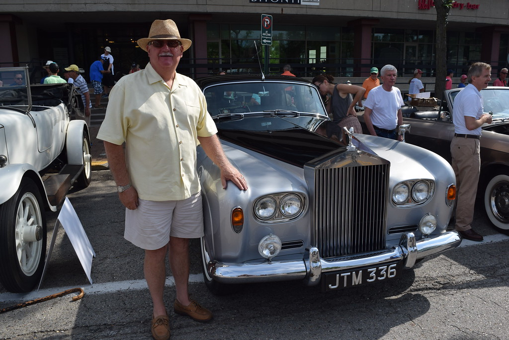 . Gary Rock, 1964 Rolls Royce Silver Cloud 3