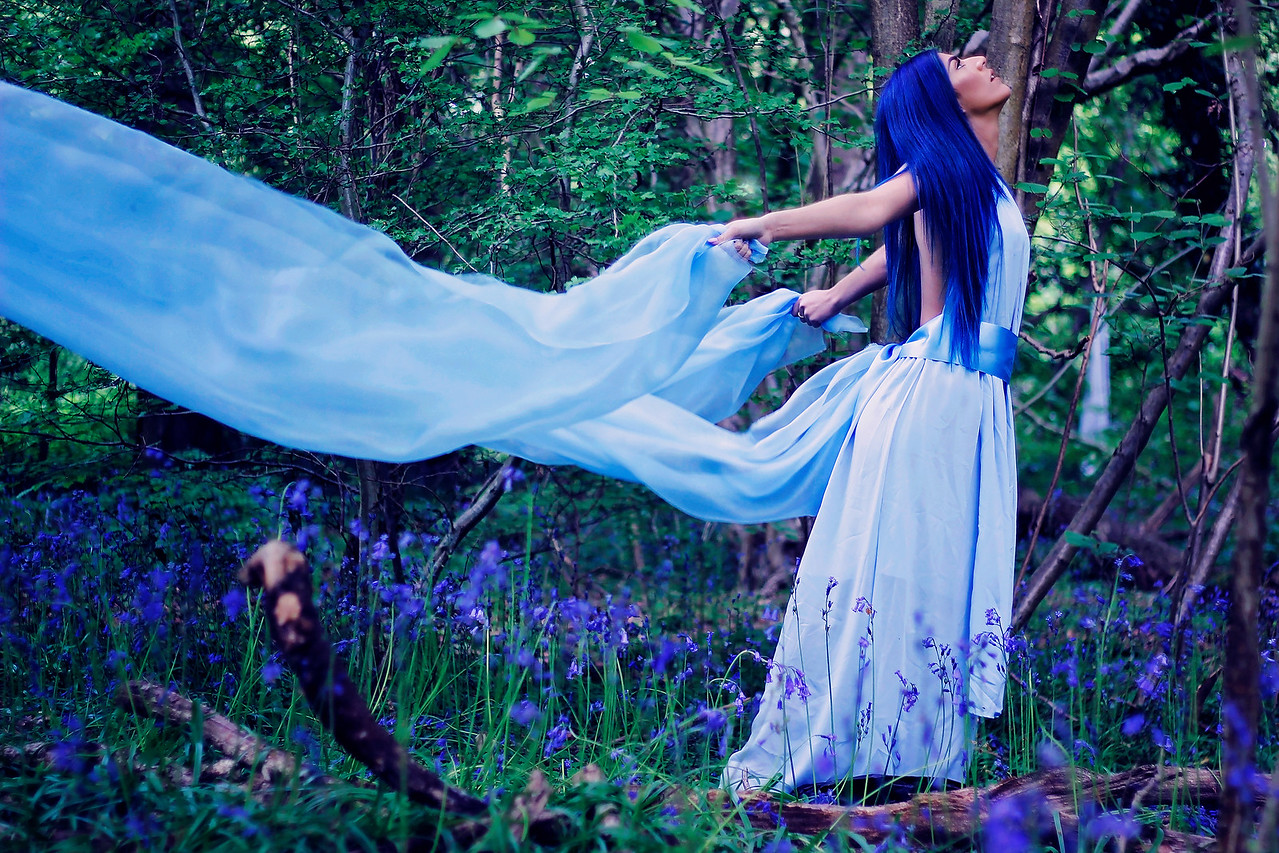 Fairies are invisible and inaudible like angels. But their magic sparkles in nature. -Lynn Holland