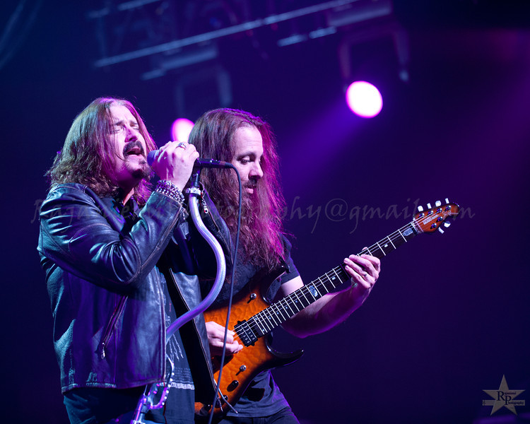 James LaBrie and John Petrucci