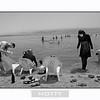 Arab Family enjoying the mud in the Dead Sea