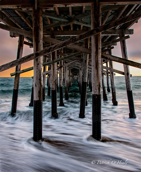 Below the Balboa Pier