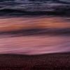 Victoria Beach Sunset Abstract