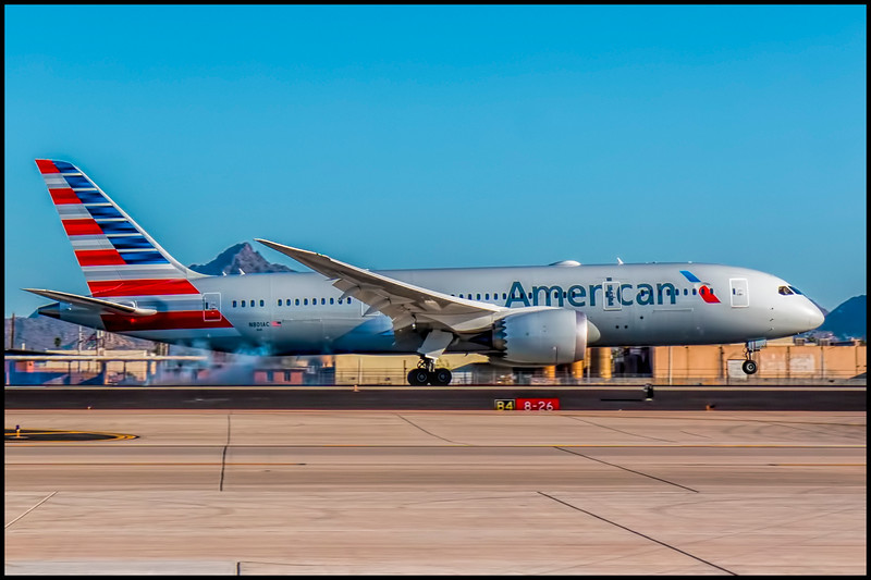 American's Newest Airplane - N801AC