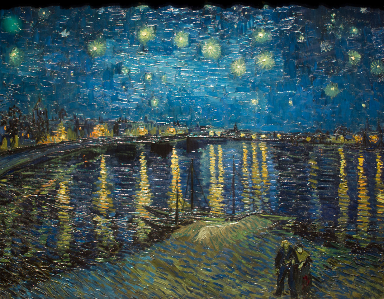 Vincent van Gogh's Starry Night, 1888-1889