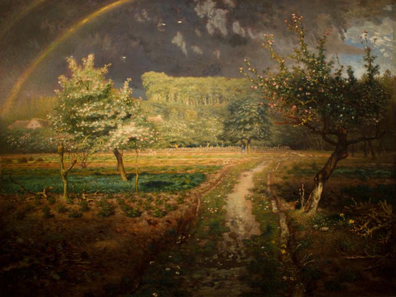 Jean-François Millet's Spring, 1868-1873
