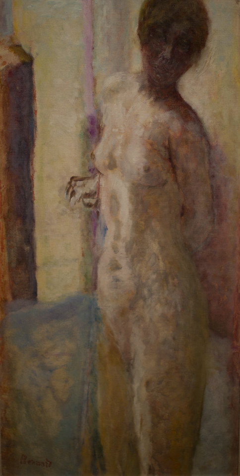 Pierre Bonnard's Pink Nude with her Head in Shadow, c1919