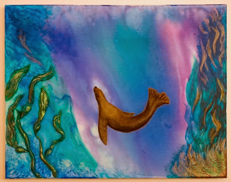 Sea Lion Diving in Dreamland