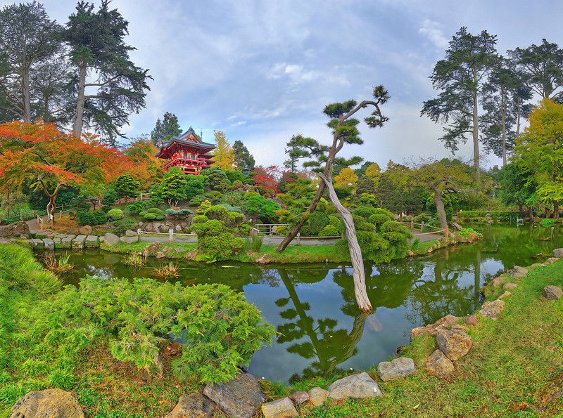 Japanese Tea Garden, Golden Gate Park, San Francisco, CA