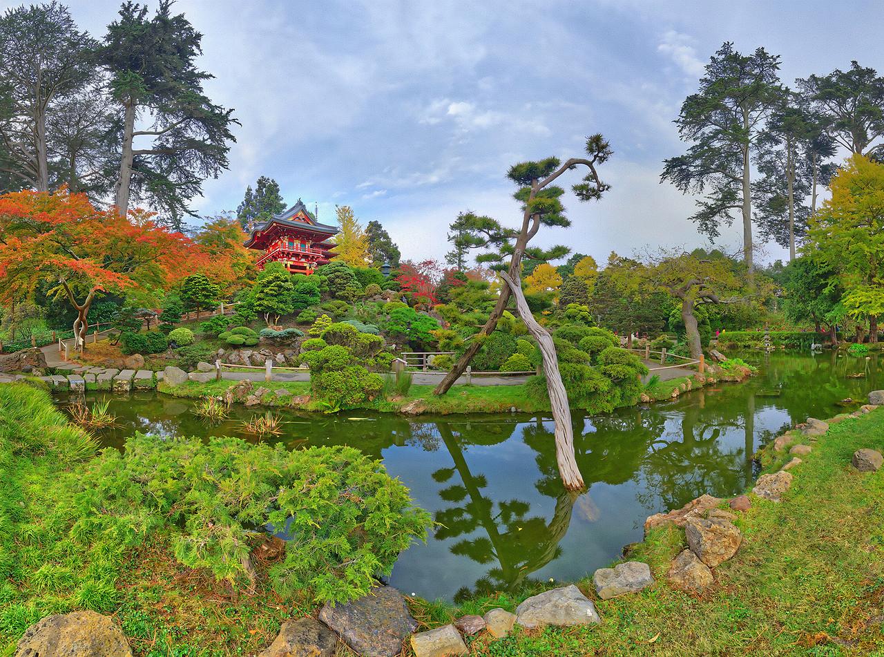 Japanese Tea Garden, Golden Gate Park, San Francisco, CA