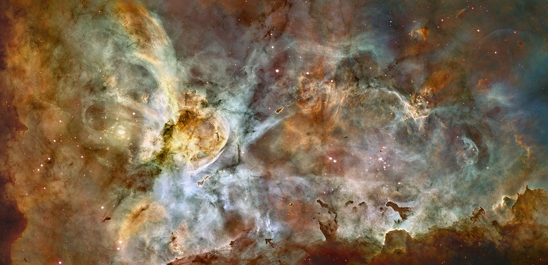 Carina Nebula, Carina the Keel Constellation, Milky Way Galaxy