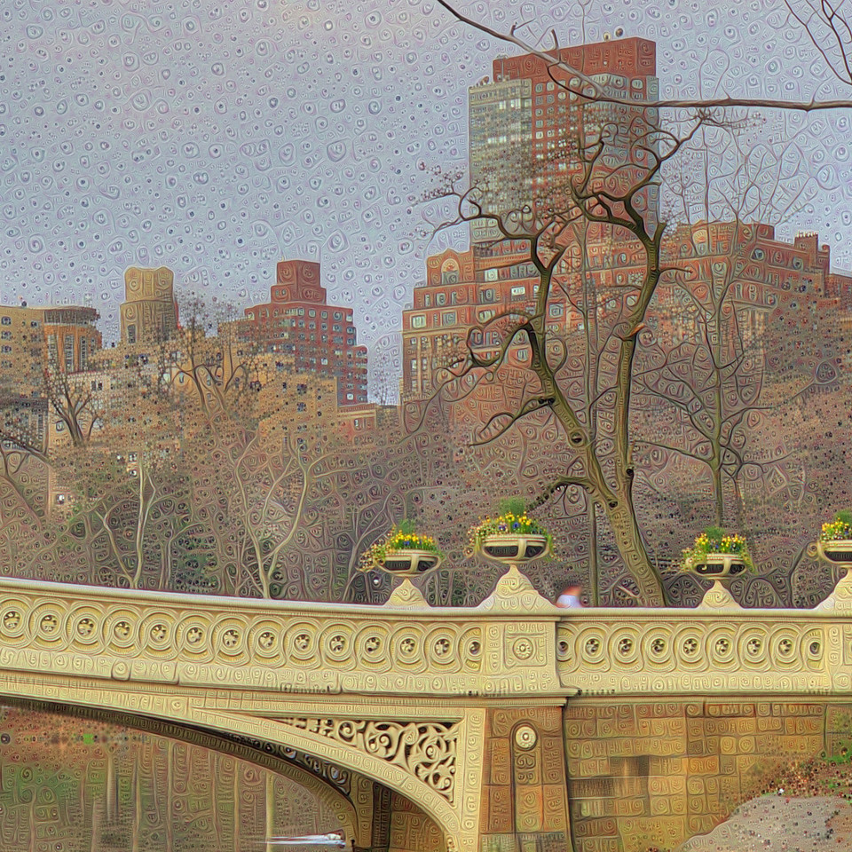 Bow Bridge - Detail #1