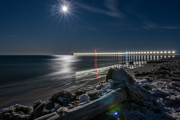 Lunar Illumination in Grand Haven