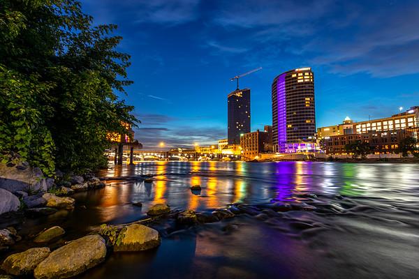 Pre-Dawn Skies Over Grand Rapids