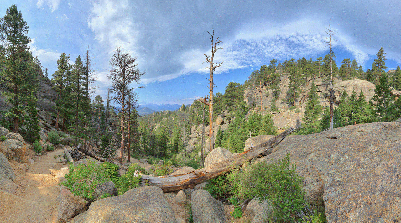 Gem Lake Trail #1 near Estes Park, CO