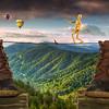 Smoky Mountain Aerialist 7629 w54