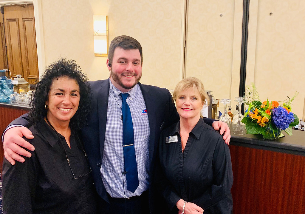 . UMass Lowell ICC�s finest, from left, Angela Sarantakis, Eric Arnold and Patty Dokos, all of Lowell