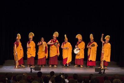 Deprung Gomang Monks visit Taft