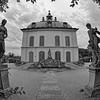 The Little Pheasant Castle, Schloss Moritzburg (b/w)