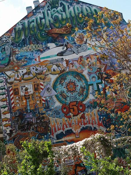 Graffiti galore in Dresden-Neustadt.