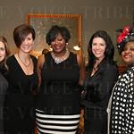 Lisa Morley, Caroline Kottak, event co-chair Dana Johnson, Mandy Vine and Judy Sharpe.