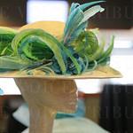 Hat designed by Sarah Havens.