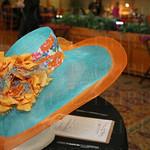 Hat by Tony Wilson Designs.