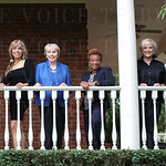 Kathy Pleasant. Mrs. Tom Diebold, Barbara Montgomery, Gladys Barclay, Pat Peet and Laura Douglas.