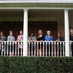 Charlotte Ipsan, Carol-James Clay, Karen Williams, Shannon White, Kathy Pleasant, Mrs. Tom Diebold, Barbara Montgomery, Gladys Barclay, Pat Peet and Laura Douglas.