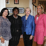Eva Smith, Betty Fox (Executive Director), Barbara Montgomery and Tammy Motley (Board President).