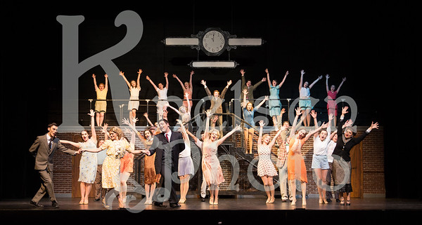 42nd Street  Directed by James Warren Set Design by Robert Ivey Costume Design by Agatha Knelsen Lighting Design by Simon